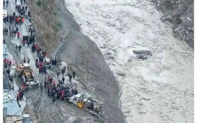 Raini flash flood a human-induced natural disaster